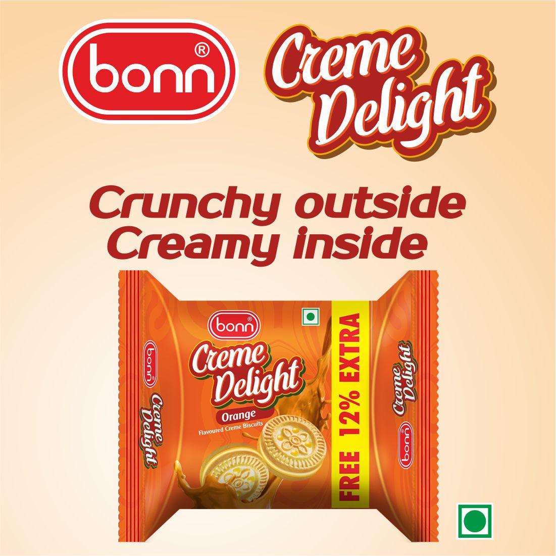 Bonn Crème Biscuits - Orange Flavor