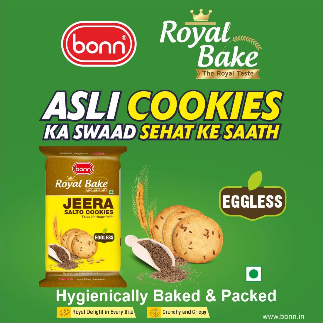 Royal Bake Jeera Salto Cookies by Bonn