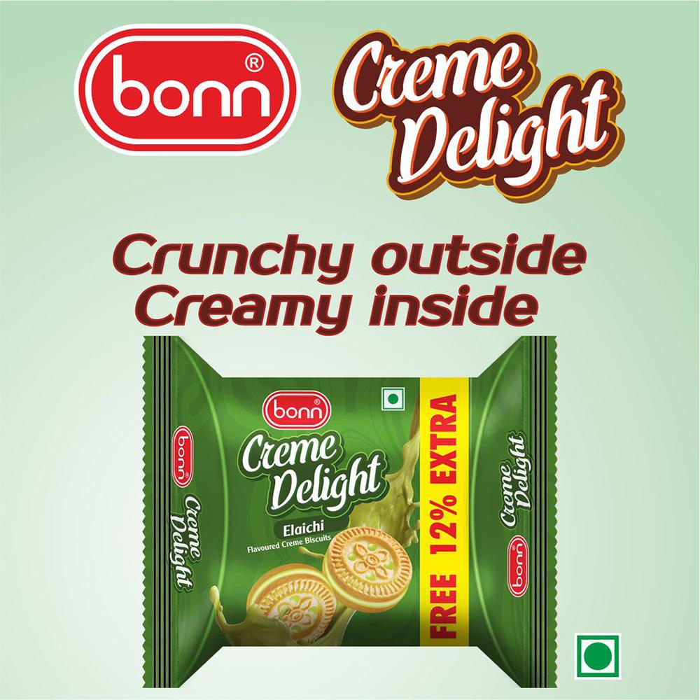 Bonn Crème Biscuits- Elaichi Flavor