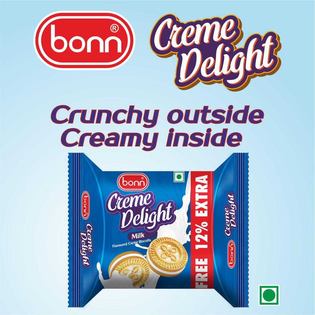 Bonn Crème Biscuits- Milk Flavor
