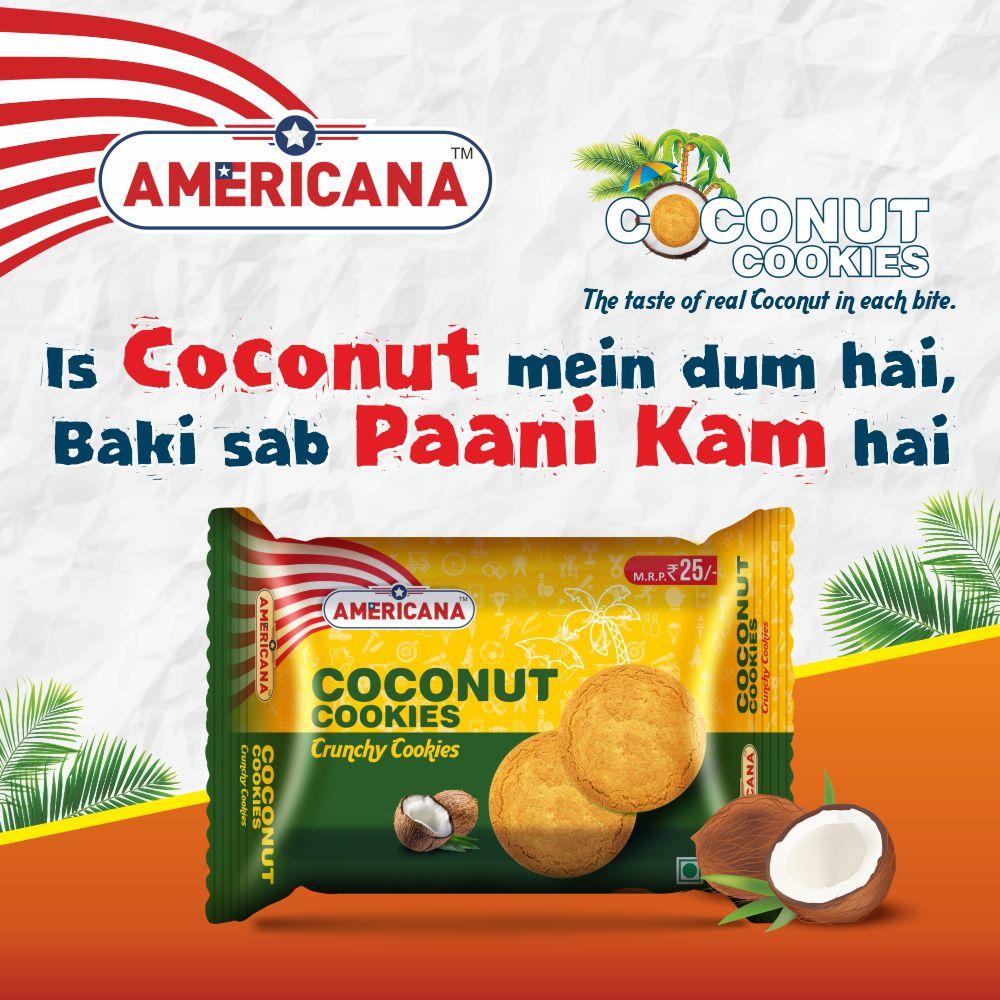 Americana Coconut Cookies 182g