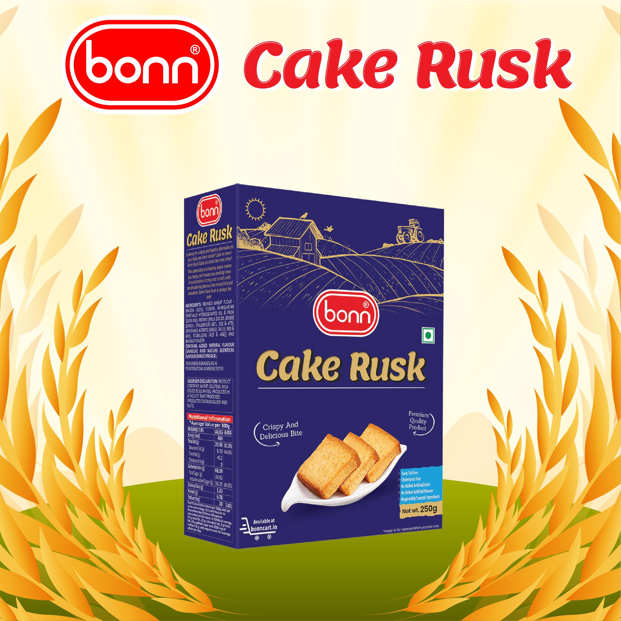 Bonn Cake Rusk ( Plain flavour )