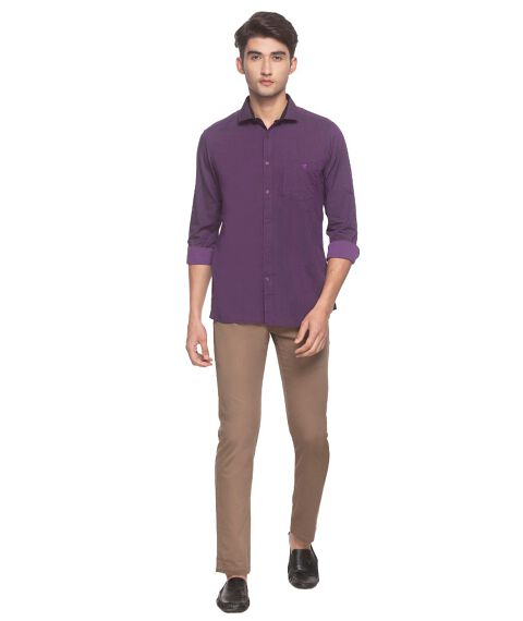Men's Two-tone smart formal shirt