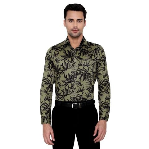 Men's Printed Clubwear Shirt
