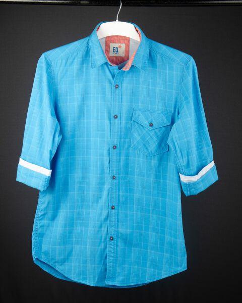Smart Checked Cotton Shirt