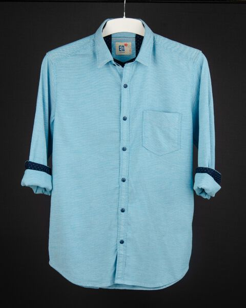 Men's Knitted Casual Shirt