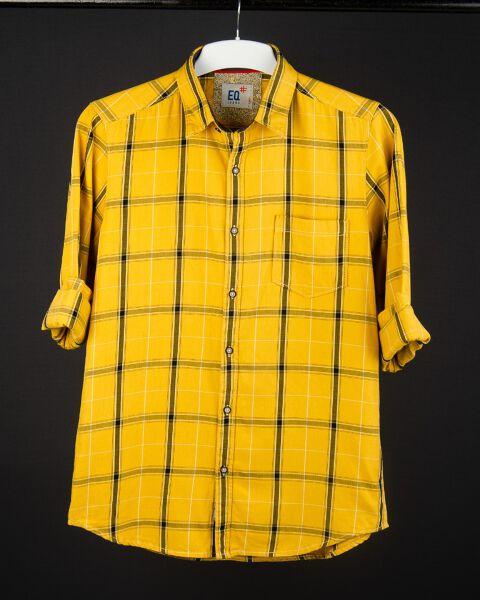 Cotton Twill Checks shirt
