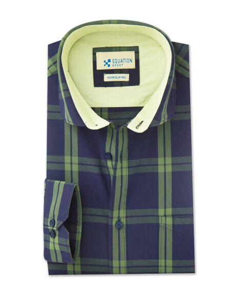 Checkered smart formal shirt