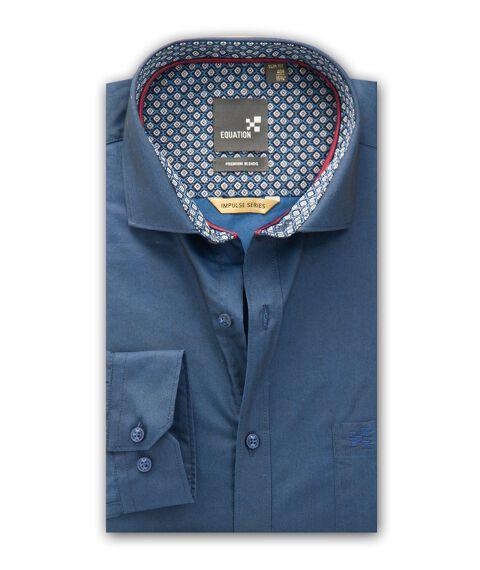 Men's Two Tone Party Wear Shirt