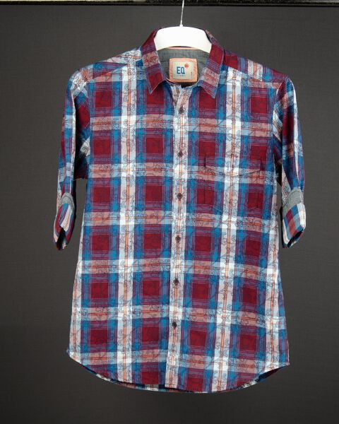 Printed Checks Shirt
