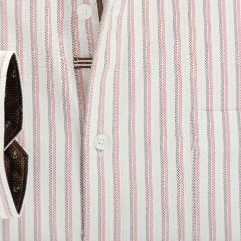 Men's Pure Cotton Striped Shirt