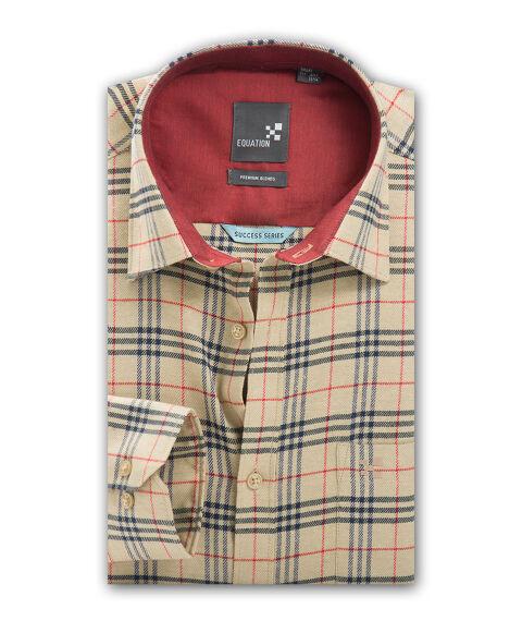 Men's Twill Checks Shirt