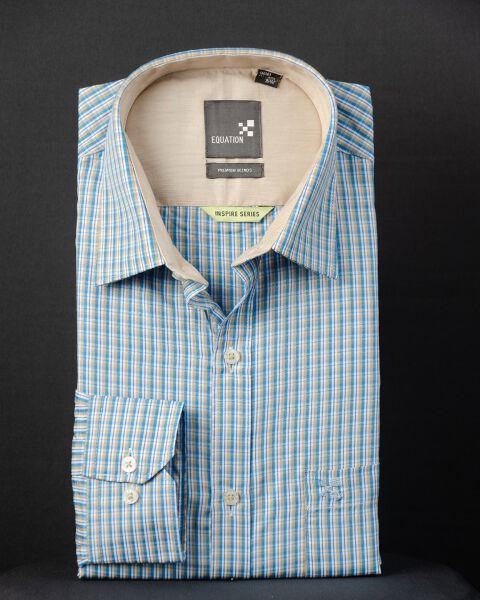 Men's Checked Formal Shirt
