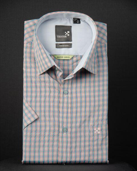 Multi-colored Checks Shirt