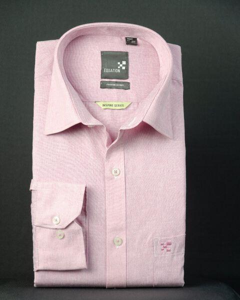 Self-design Stripe shirt