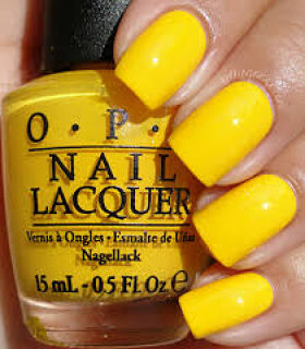 Yellow Nail Paint