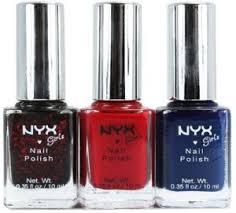 Multi color Nail paint