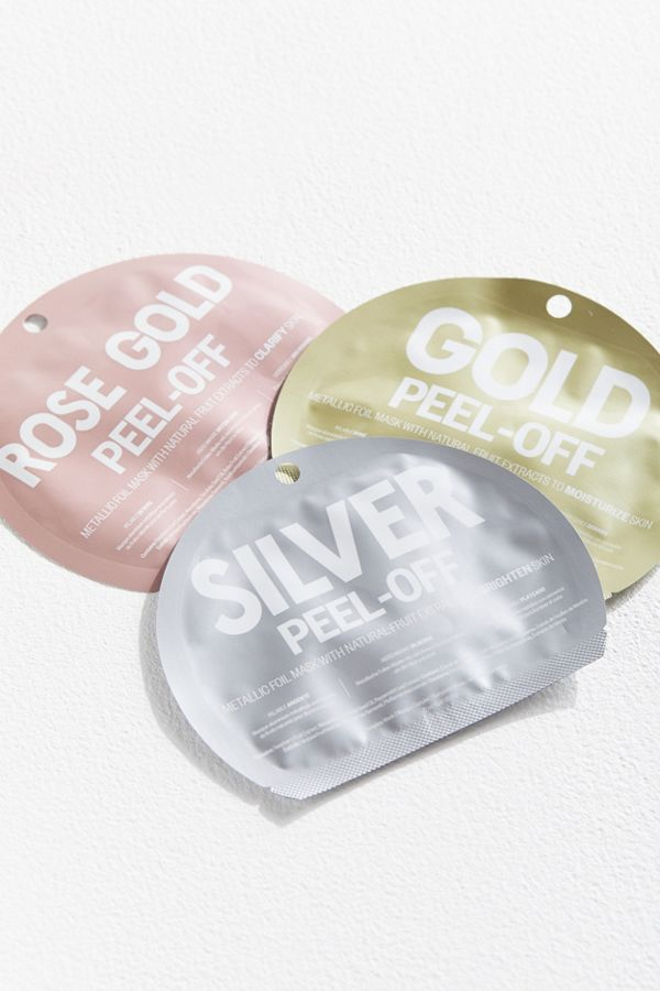 UO Metallic Foil Peel-Off Mask