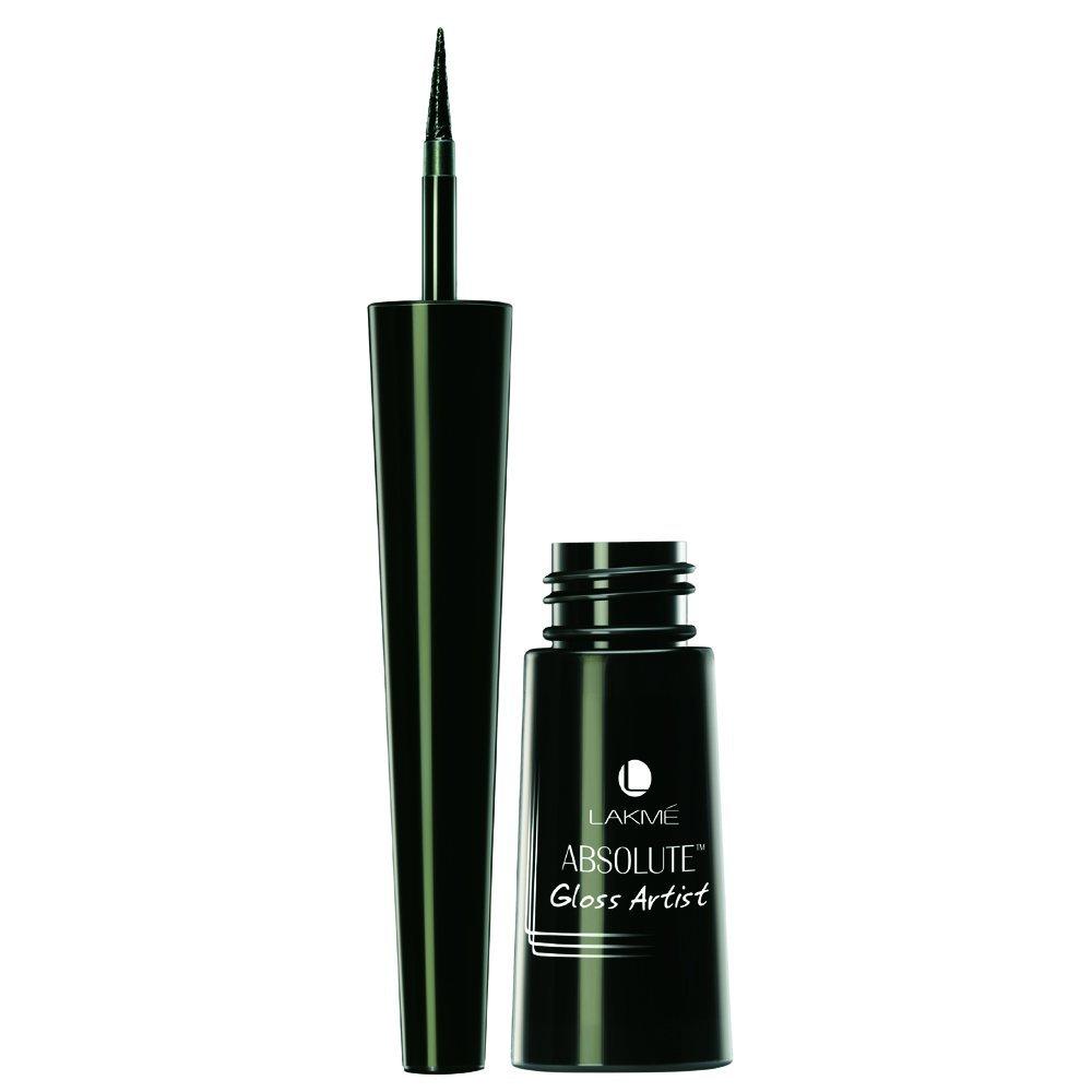Lakme Absolute Gloss Artist Eye Liner, Black, 2.5 ml