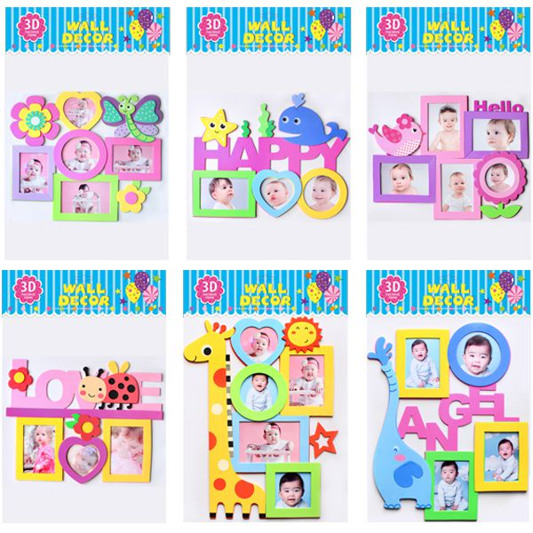 EVA Wall Decor 3D Photo Frame Kids