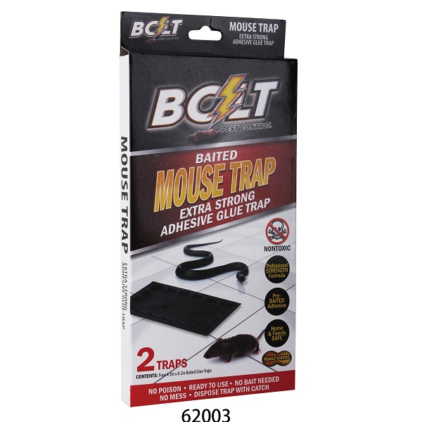 Bolt Pest Mouse Trap 2PK