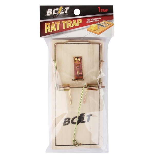 Bolt Pest Wood Rat Trap 1PK Jumbo