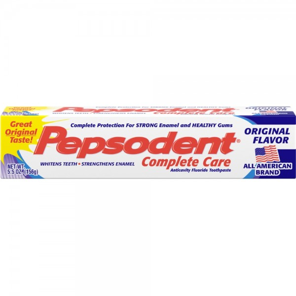 Pepsodent Toothpaste 5.5oz Cavity Protection Regular