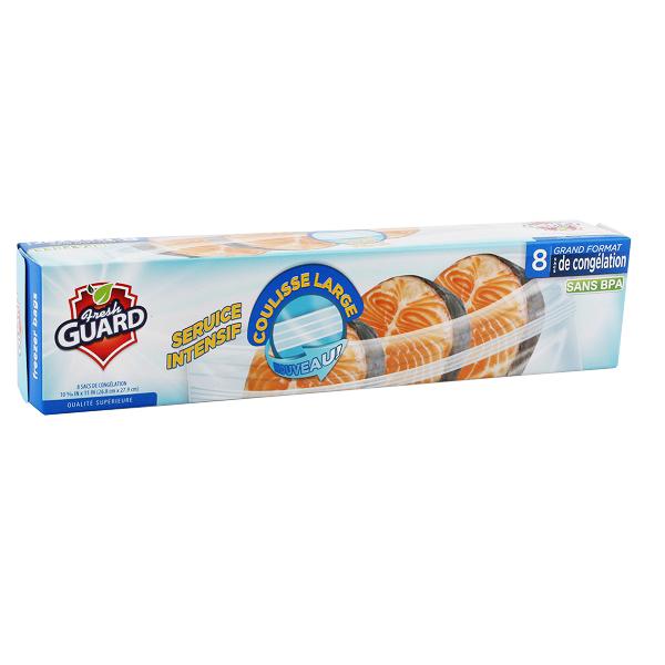 Fresh Guard Freezer Bag Gallon 8CT