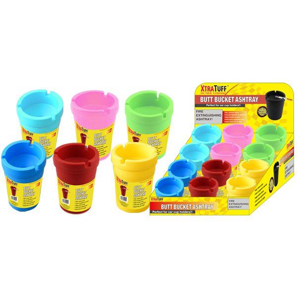 XtraTuff Butt Bucket Ashtray Colors