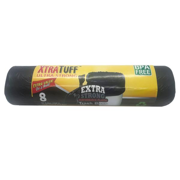Xtratuff Trash Bag Roll 33GAL 8CT