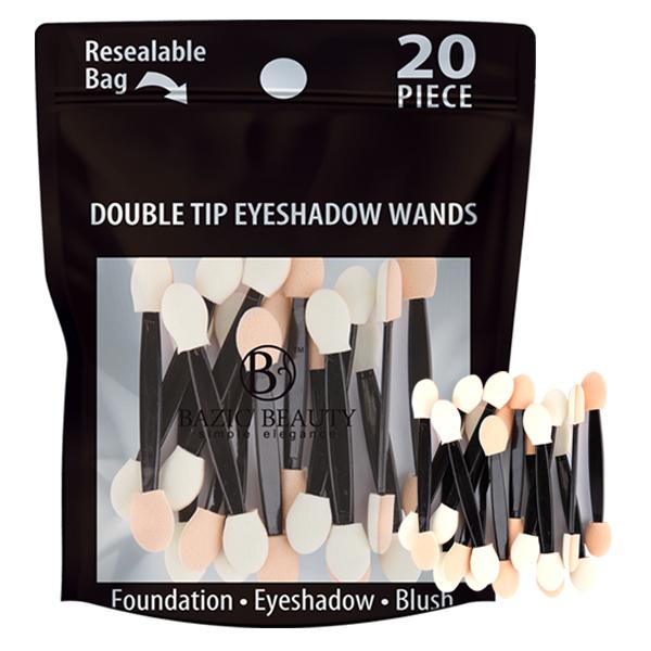 Bazic Beauty Double Tip Eyeshadow Wands 20PK