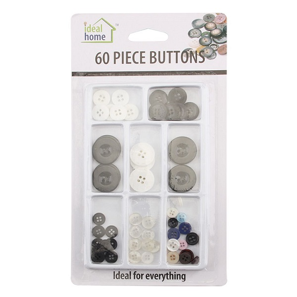Ideal Home Buttons 60CT