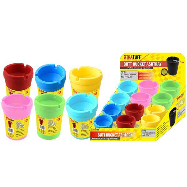 XtraTuff Butt Bucket Ashtray Jumbo Colors