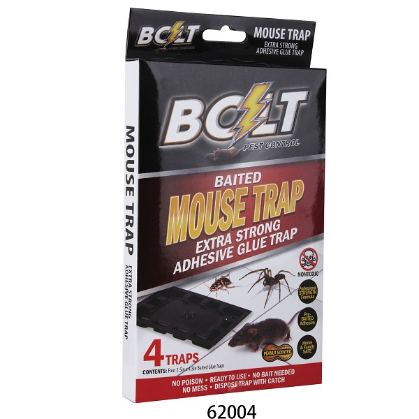 Bolt Pest Mouse Trap 4PK