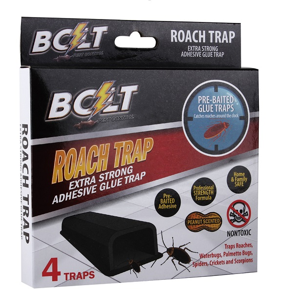 Bolt Pest Roach Trap 4PK