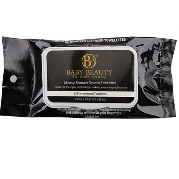 Baby Beauty Make Up Wipes 25CT