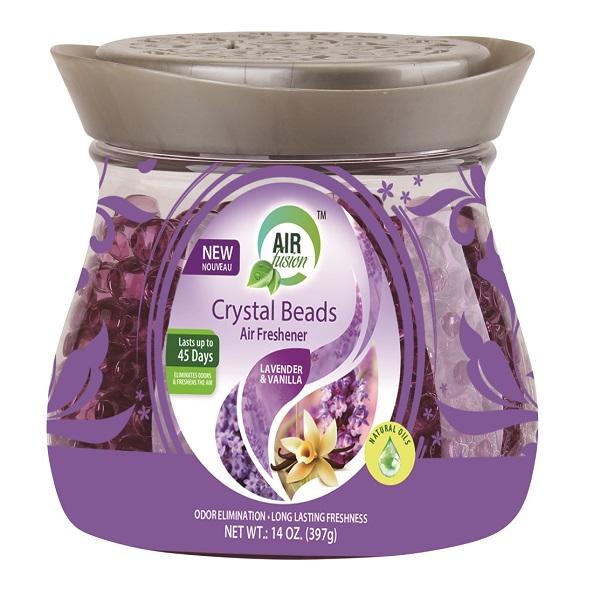 Air Fusion Crystal Beads 14oz Lavendar and Vanilla