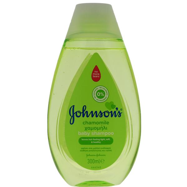 JJ Baby Shampoo 300ml Chamomile