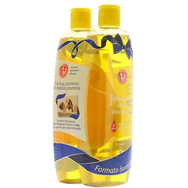 JJ Shampoo 750ml Regular 2PK