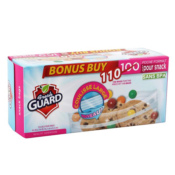 Fresh Guard Snack Bag 110CT