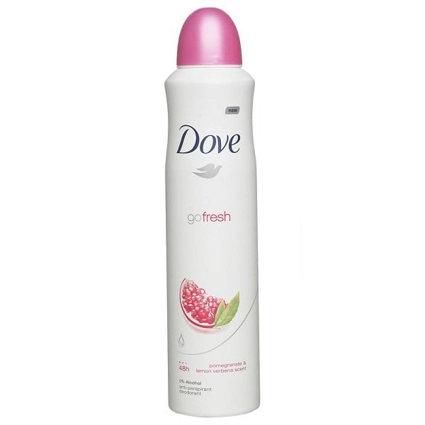 Dove Body Spray 150ML Pomegranate & Lemon Verbena