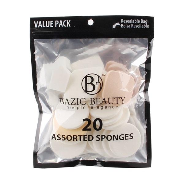 Bazic Beauty Make-up Blender Sponge 20pk