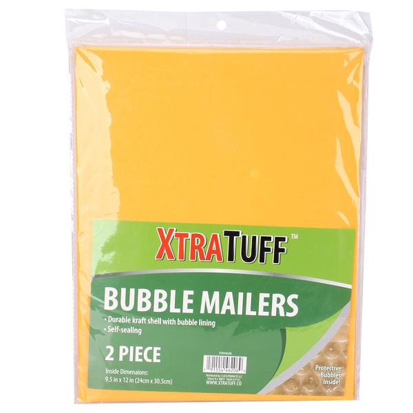 XtraTuff Bubble Envelope 9.5x12in 2PK
