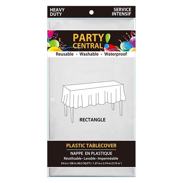 Table Cover Rectangular White