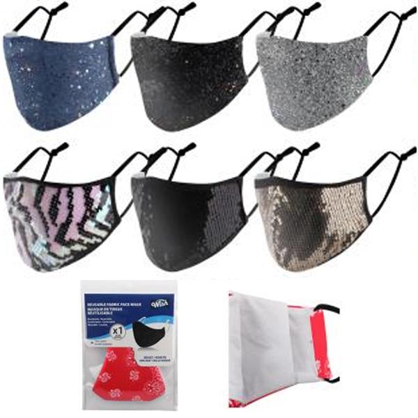 Wish Reusable Cloth Mask Glitter