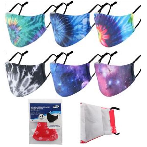 Wish Reusable Cloth Mask Tie Dye