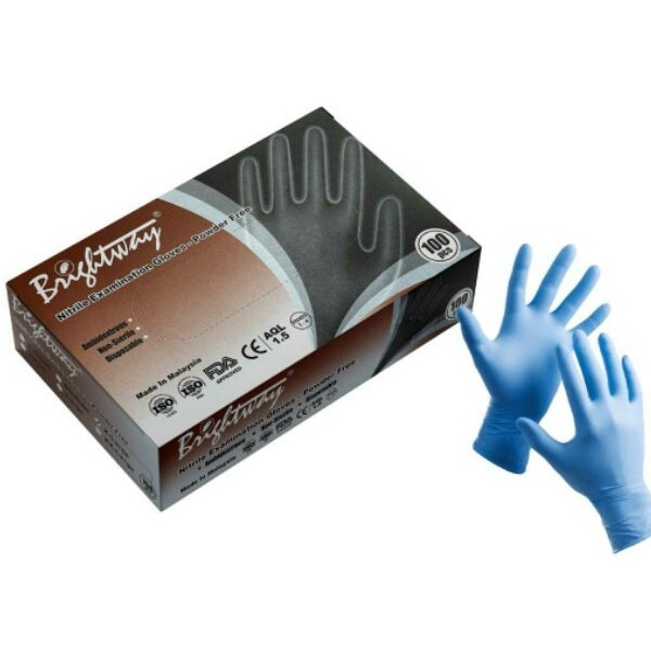 Brightway Nitrile Glove 100PK Small