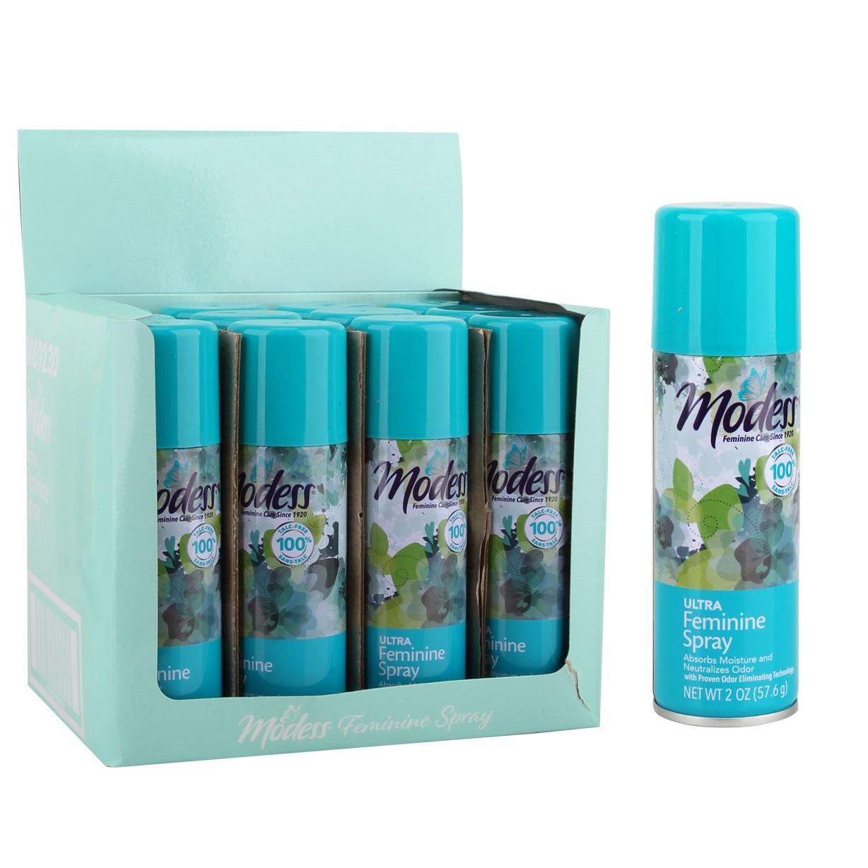 Modess Feminine Spray 2oz Ultra Freshening