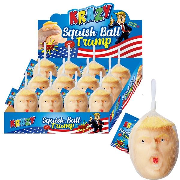 Trump Big Head Squishy Display