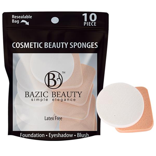 Bazic Beauty Cosmetic Beauty Sponge 10PK